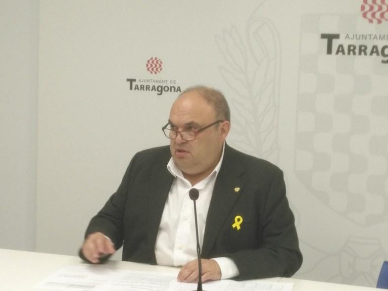 L'Ajuntament de Tarragona congela els impostos i totes les taxes municipals excepte la brossa