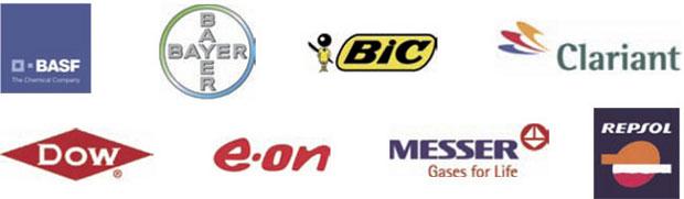 Logotips empreses implantades a Tarragona