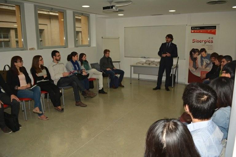 Joves catalans i xinesos participen al programa Sinèrgies, de captació de talent emprenedor i internacionalització empresarial