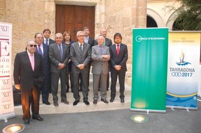 """L'alcalde Ballesteros defensa el corredor del Mediterrani com """"necessari i imprescindible"""""""