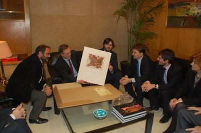 L'ambaixador espanyol per assumptes de Mediterrani, compromet el suport de l'Estat espanyol en l'organització dels Jocs Mediterranis