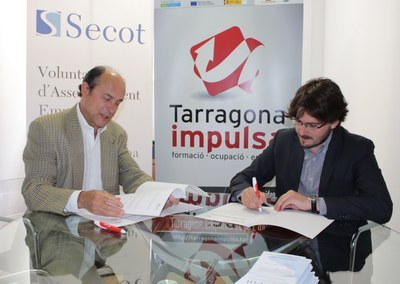 Tarragona Impulsa i SECOT treballaran junts en la posada en marxa de nous projectes empresarials