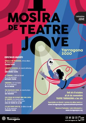 Cartell Mostra de Teatre Jove 2020
