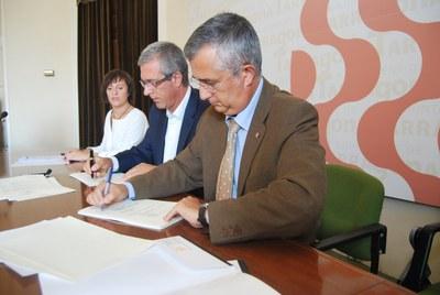 Ajuntament i Generalitat han signat el Contracte Programa 2009 per desenvolupar diferents projectes en matèria de serveis socials