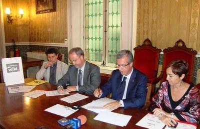 L'ajuntament de Tarragona i els Serveis Territorials d'Educació de la Generalitat signen un acord de col•laboració per impulsar la Tarracowiki