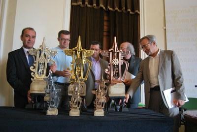 La ciutat de Tarragona disposa d'un nou trofeu esportiu