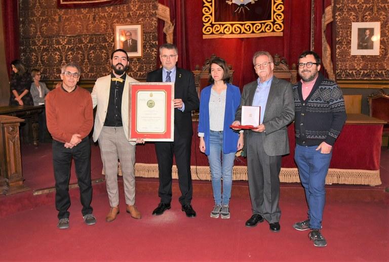 La històrica Cooperativa Obrera rep la Medalla de la Ciutat
