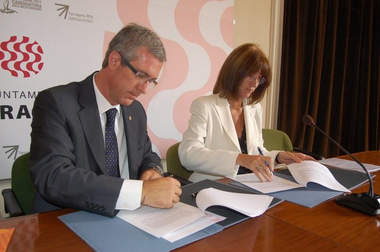 L'Ajuntament cedeix un espai per a la creació d'un centre de suport de la UOC