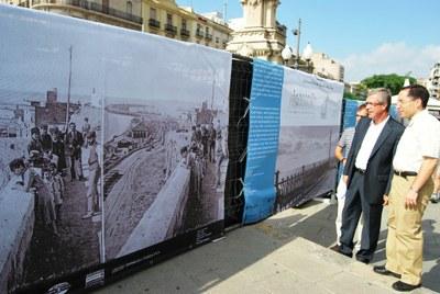 Les obres de restauració de la barana Balcó del Mediterrani finalitzaran al març del 2010