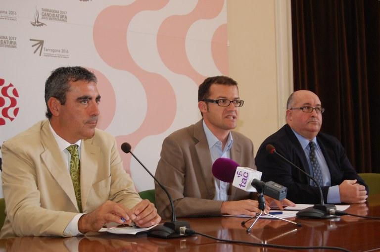Signatura del conveni de col•laboració entre l'Ajuntament i la Cambra per a l'estudi de l'àrea d'Influència del Mercat Central