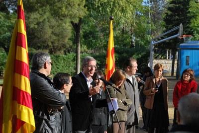 S'inauguren les obres de remodelació del Parc Saavedra