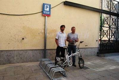 Tarragona estrena 80 places d'aparcament per a bicicletes