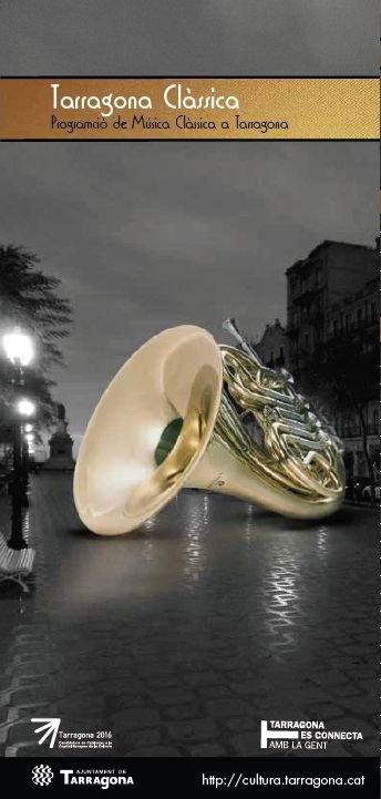 """Cultura presenta """"Tarragona Clàssica"""", una nova coordinació de la programació de la música clàssica a la ciutat"""
