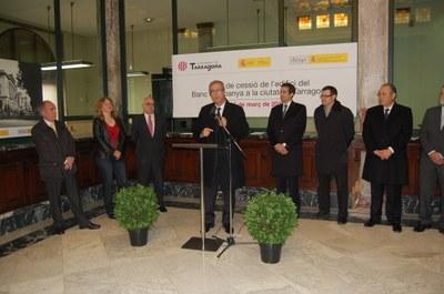 El Banc d'Espanya ja pertany a l'Ajuntament de Tarragona