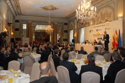 Josep Fèlix Ballesteros aposta per territoris intel·ligents amb una gran plataforma logística