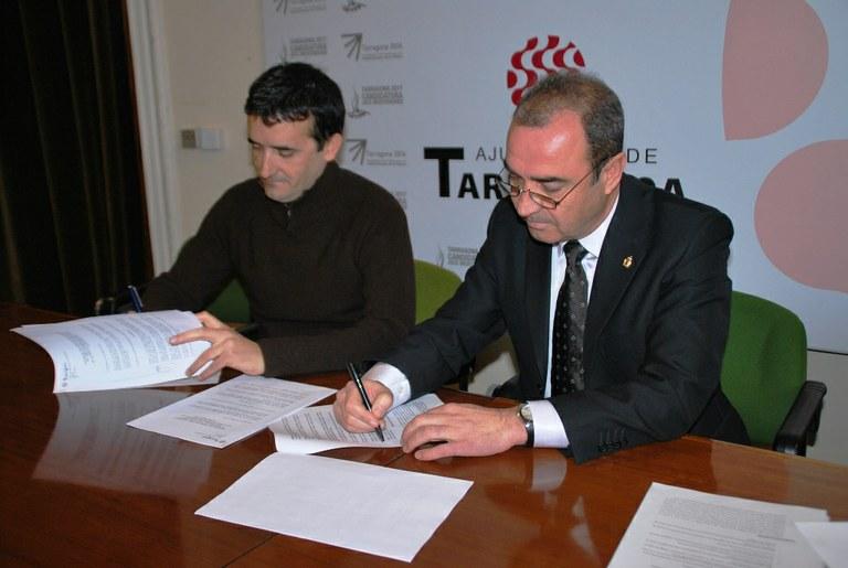 L'Ajuntament i el Club Natació Tàrraco signen conveni de col·laboració
