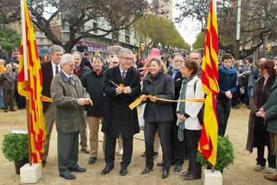 L'alcalde inaugura les millores de la plaça Imperial Tàrraco