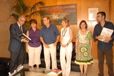 L'alcaldessa del govern municipal de Francisco de Orellana visita Tarragona