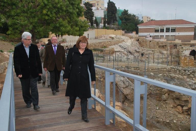 S'inaugura l'accés a l'arena de l'Amfiteatre