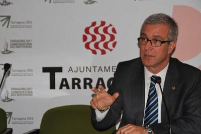 """Ballesteros: """"Estem a l'alçada d'organitzar els Jocs Mediterranis ara i al 2017"""""""