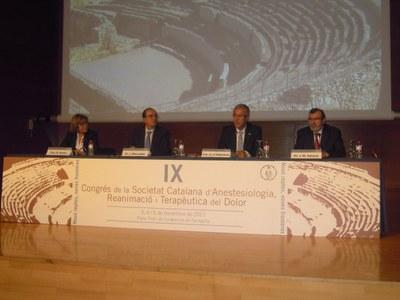 El Palau acull el IX Congrés de la Societat Catalana d'Anestesiologia, Reanimació i Terapèutica del Dolor