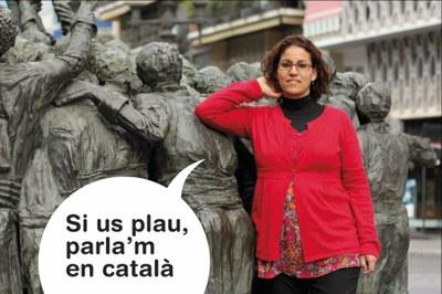 """La campanya """"Si us plau, parla'm en català"""" arriba a Tarragona"""