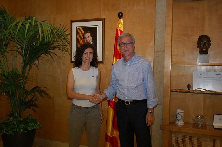 L'alcalde Ballesteros planteja fer un aparcament dissuasiu al Complex Sant Jordi