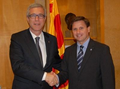 L'alcalde de Tarragona i el president de l'Autoritat Portuària aposten per potenciar el binomi Ajuntament-Port