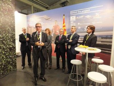 Tarragona presenta al I Congrés Europeu Smart City la seva aposta per transformar-se en una ciutat intel·ligent amb la celebració dels Jocs del Mediterrani