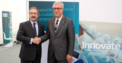 L'Alcalde inaugura l'exposició InnovaTE a Tarragona