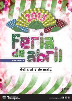 Presentat el cartell de la fira d'abril de Bonavista 2013