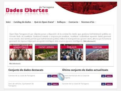 Tarragona se suma al projecte Open Data per compartir informació a la xarxa