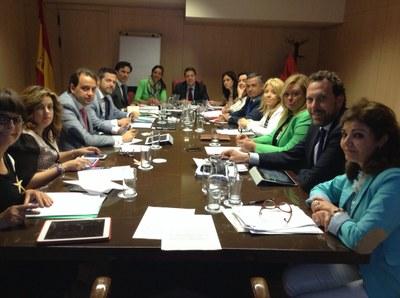Avui s'ha reunit la Comissió de Turisme del Grup Ciutats Patrimoni de la Humanitat a Madrid