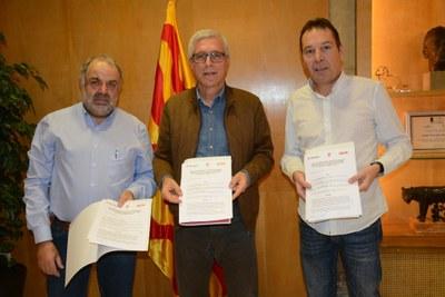 Els sindicats UGT i CCOO col·laboraran en el desenvolupament del nou Pla d'Acció de Tarragona Impulsa