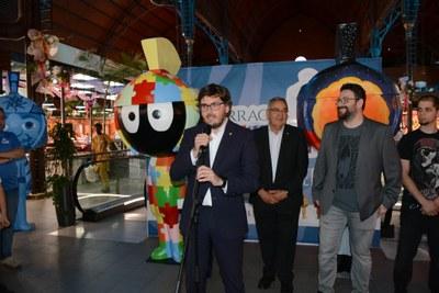 El Tarracvs Parade promociona els Jocs Mediterranis Tarragona 2018 a través de l'art