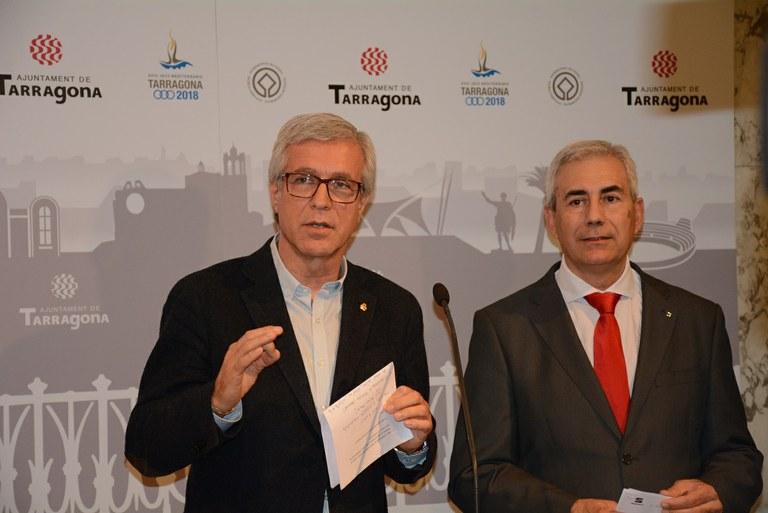 """Josep Fèlix Ballesteros: """"És una promoció excel·lent per a la ciutat, que el nou SEAT porti el nom de Tarraco"""