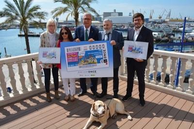 L'ONCE ha presentat el cupó dedicat als Jocs Mediterranis Tarragona 2018