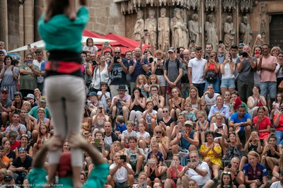 Tarragona Ciutat de Castells encara la recta final havent aconseguit plens a les actuacions i a la visita als assajos