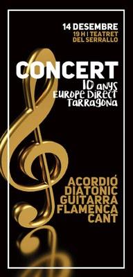 Concert per celebrar l'aniversari d'Europe Direct Tarragona