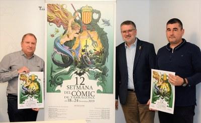 Del 18 al 24 de novembre se celebrarà la Setmana del Còmic de Tarragona
