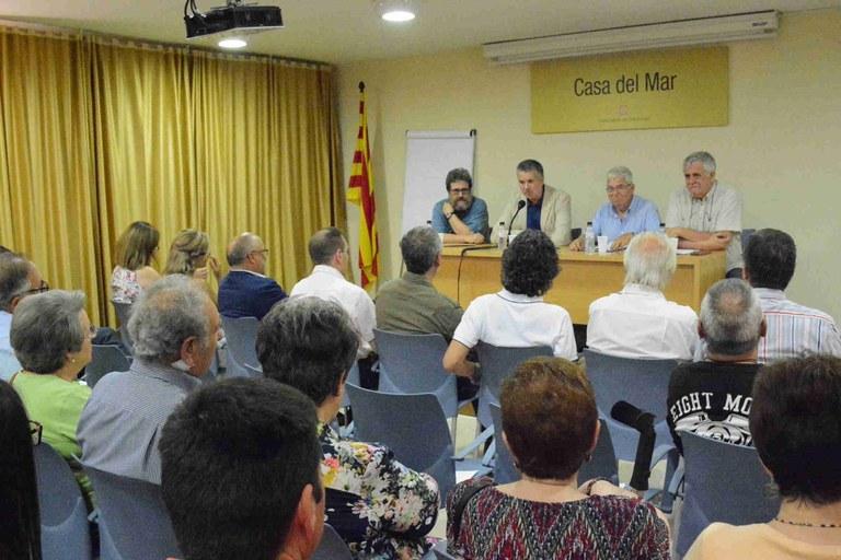 El pregó de l'alcalde Ricomà va obrir les festes de l'Associació de Veïns Verge del Carme