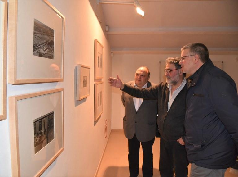 """L'alcalde Ricomà destaca la importància de la Fundació Forvm en la inauguració de l'exposició """"Trepat"""""""