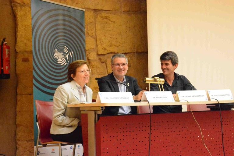 """L'alcalde Ricomà destaca la importància de """"vincular la cultura amb la salut mental"""""""