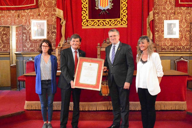 Tarragona nomena Josep Maria Andreu fill predilecte de la ciutat de Tarragona