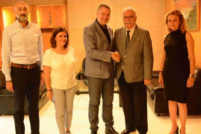 Una delegació de la ciutat turca de Çannakale visita Tarragona