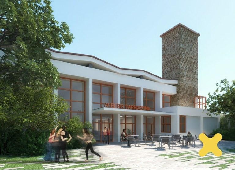 El futur Complex de Turisme Social i Alberg de Joventut de Tarragona tindrà més de 500 places