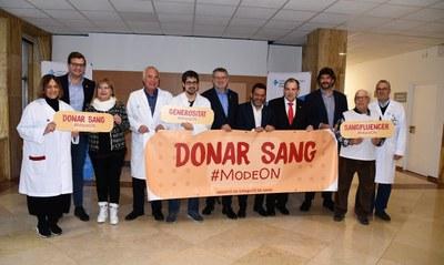 L'alcalde Ricomà apel·la a la solidaritat dels tarragonins i tarragonines per participar en la 7a Marató de Donants de Sang de Catalunya
