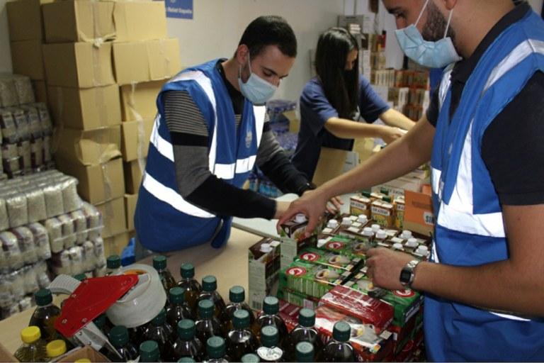 L'ONG Islamic Relief reparteix aliments a famílies necessitades de Tarragona a través de la Conselleria de Nova Ciutadania