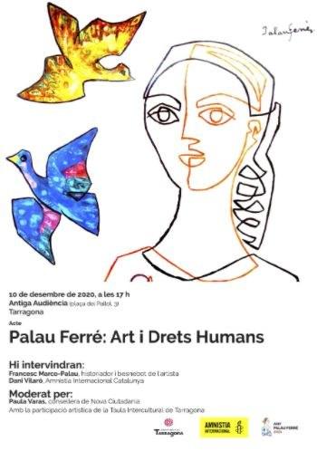 La conselleria de Nova Ciutadania reivindica el dia dels Drets Humans des de l'art i la cultura