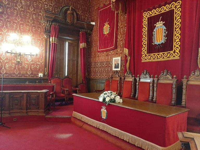 L'Ajuntament de Tarragona estrena el servei d''streaming' al Saló de Plens